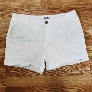 Old Navy White Shorts